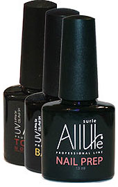 nail-prep, base и top-coat Allure