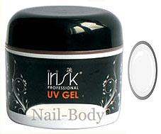 Гель для наращивания ногтей Irisk самовыравнивающийся Extra White, 50 мл.