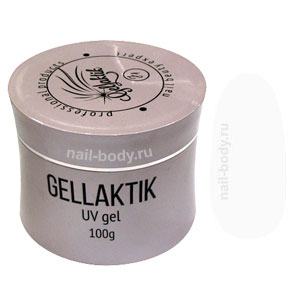 Гель желе Gellaktik Jelly Clear, прозрачный, 100 гр.