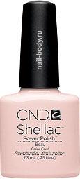 CND Shellac Beau - Прозрачно-матирующий розовый.