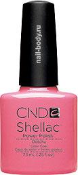 CND Shellac Gotcha - Матовый, розовый, насыщенный,светлее фуксии.