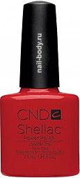 CND Shellac Lobster Roll - Красно-коралловый матовый. РАСПРОДАЖА