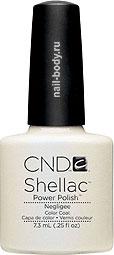 CND Shellac Negligee - Нежно розовый с неоновым отливом.