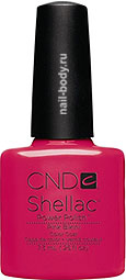 CND Shellac Pink Bikini - Матовый розовый плотный.