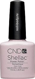 CND Shellac Romantique - Молочный, светло-розовый, матовый.