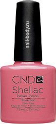CND Shellac Rose Bud - Классический розовый, матовый лак. РАСПРОДАЖА