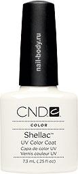 CND Shellac Studio White - Белый матовый лак.