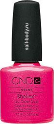 CND Shellac Tutti Frutti - Цвет ярко-розовый с неоновым отливом, цикломеновый, плотный. РАСПРОДАЖА