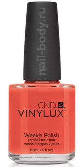 CND VINYLUX Electric Orange №112